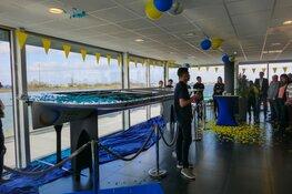 Nick Borst uit Heerhugowaard onthult de nieuwe Solar Boat 2018